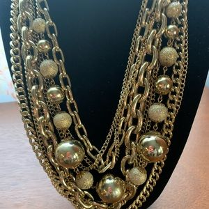 Vintage Bauble Necklace